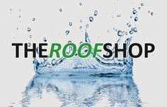 The Roof Shop logo and water image Water Images, Shop Logo, Logos, Movie Posters, Movies, Shopping, Products, Art, Art Background