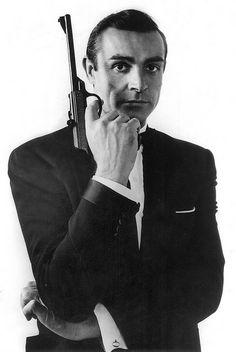 """Bond. James Bond.""  My favorite Bond of all time. Sean Connery."