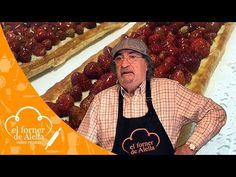 Hojaldre de fresas silvestres - YouTube Tapas, Breads, Desserts, Youtube, Color, Deserts, Puff Pastries, Sweets, Crack Cake