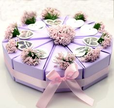 Check out this product on Alibaba.com App:Cake Style Lavender Flower Decoration Wedding Favors Gifts Box https://m.alibaba.com/fEVVja