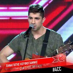 Παναγιώτης Κουφογιάννης - Can't feel my face | X Factor 4 Chair Challenge