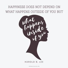 What Your Happiness Depends On