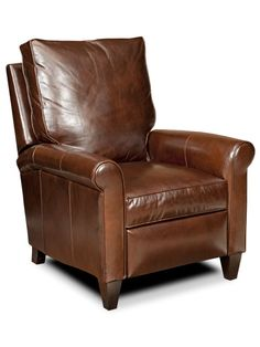 Leather recliner for Ward's office.  Bradington-Young's KEENE 3-WAY LOUNGER | 3200