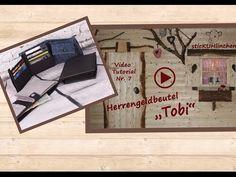 Herrengeldbeutel Tobi Videoanleitung - wie nähe ich einen Geldbeutel - YouTube