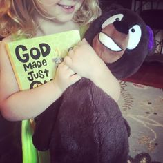 She loves her God Made Just One items from Mary & Martha!