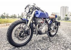 Kawasaki Z440 Cafe Racer by Sebastian Nguyen #motorcycles #caferacer #motos   caferacerpasion.com