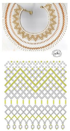 Error - Her Crochet Diy Necklace Patterns, Beaded Jewelry Patterns, Beading Patterns, Seed Bead Jewelry, Bead Jewellery, Beaded Ornaments, Ring Verlobung, Beading Tutorials, How To Make Beads