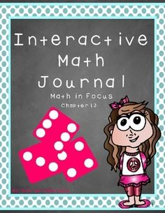 Chapter 13, Interactive Notebooks - Math in Focus