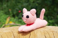 Crochet Cat amigurumi toy, crochet stuffed Cat toy, plush Kitten toy, stuffed…