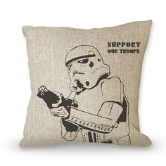 Movies pillowcase Star Wars  18 posters pillow by art888888, $29.00