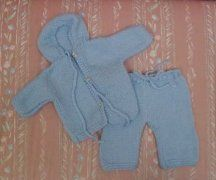 Hearts of Gold Preemie Knits Hooded Sweater