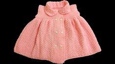 Kız Bebek Elbisesi Nasıl Yapılır? (Baştan Sona Anlatım) - bebek örgü mod...