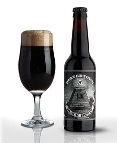 Woah Black Betty - Beavertown Brewery's dark roasted IPA is full of hop fruitiness with notes of burned caramel and some pine.  Brewd.com #Beer #British #IPA