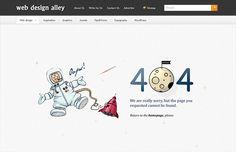 20 Creative 404 Error Pages  -------------  Wil je minder 404's? of gewoon een betere website? Neem dan eens vrijblijvend contact op met Budeco http://budeco.nl/contact