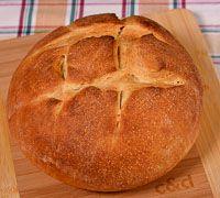 Beginner's Sourdough Bread ~ Orgasmic Chef