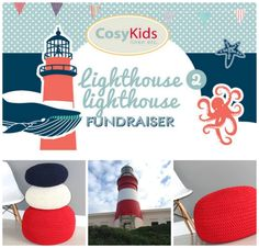 A photo edited with PicMonkey Photo Editor, Fundraising, Lighthouse, It Works, Campaign, Kids, Design, Bell Rock Lighthouse, Young Children