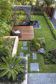 55 Small Garden and Landscaping Design for Small Backyard Ideas . 55 Small Garden a Small Backyard Gardens, Backyard Garden Design, Small Backyard Landscaping, Small Garden Design, Small Gardens, Outdoor Gardens, Landscaping Ideas, Backyard Ideas, Mulch Landscaping