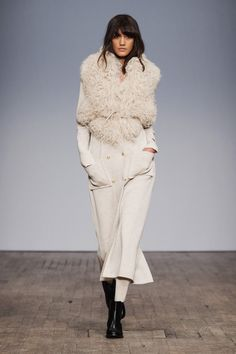 Busnels höstkollektion 2016, Stockholm Fashion Week
