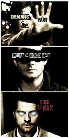 Sam Winchester Dean Winchester and Castiel.. Team Free Will