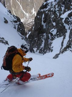 Mecca for big-mountain looking pros La Grave/ la Meije #backcountry #offpiste #skiing #powder #travel