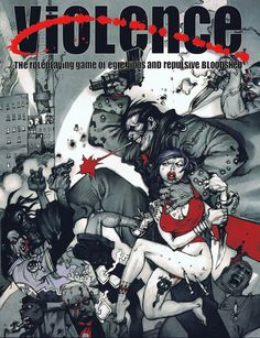 Violence RPG cover (2004)