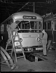 First mass-produced trolley bus 27 Aug 1951 . Wellington City, 17 Feb, Buses, Old Photos, New Zealand, Trucks, Train, World, Old Pictures