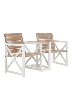 Marion Acacia 2-Seater Bench from Rustic Outdoor Furniture & Accents on Gilt