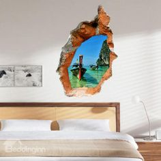 Elegant Creative 3D Pretty Scenery Wall Sticker
