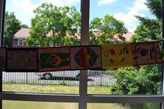 Google Doodle - WK Brazilië 2014 (voor meer doodles zie: bord creatieve dingen uit onze klas)