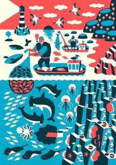 Designspiration — Landscape with fishermen | Flickr - Photo Sharing!