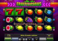 Fruitilicous - ein einfacher 5 Gewinnlinien Slot, der aber gute Gewinne zahlen kann