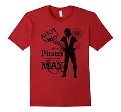 Mens Pirates are Born in May Funny Birthday T-Shirt for B... https://www.amazon.com/dp/B071VTQ7V7/ref=cm_sw_r_pi_dp_x_0KlhzbC6XGPQR