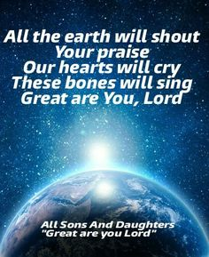 """All Sons And Daughters """"Great are you Lord"""""""