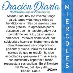 God Prayer, Prayer Quotes, Bible Quotes, Spanish Prayers, Yoga Mantras, Bible Study Journal, How To Get, How To Remove, Amor