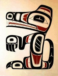 "Haida Tribe ""Wolf Spirit"" Vancouver BC"