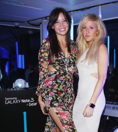 Pin for Later: Is Anyone Not Friends With Ellie Goulding? Ellie Goulding With Daisy Lowe