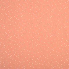 Tissu popeline triangles rose