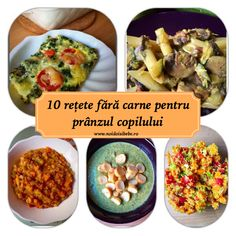 10 reţete fără carne pentru prânzul copilului - Noi doi si bebe Kid Friendly Meals, Child Friendly, Baby Food Recipes, Acai Bowl, Sandwiches, Vegan, Vegetables, Breakfast, Ethnic Recipes
