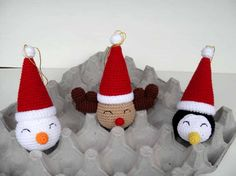 Free Christmas Crochet Ornament Patterns