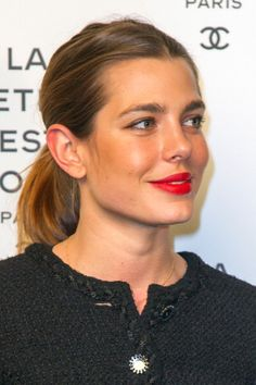 Charlotte Casiraghi. She looks a lot like her grandmother, Grace Kelly.