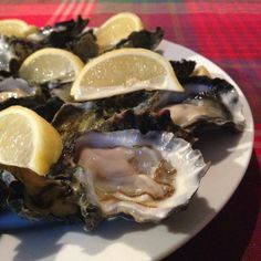 #Whole30 Day02 Meal3 first course: Sydney rock oysters