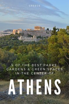 Some of the best parks, gardens and green spaces in Athen. National Gardens, Lycabettus Hill, Ardittos Hill, Filopoappou Hill, Pedion Tou Areos. Greece Amazing Destinations, Travel Destinations, European Travel Tips, One Summer, Athens Greece, Travel Abroad, Greece Travel, Greek Islands, Vacation Spots