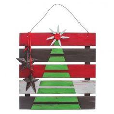 Nicole™ Crafts Christmas Tree Plaque