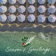 """"""" Waves come and go 🌊 The sea is eternal 💙 """" 🌲✨ Wishes for a beautiful holiday season from everyone at Mykonos Blanc Hotel! Ornos Beach, Mykonos Hotels, True Nature, Hotels And Resorts, Waves, Seasons, Luxury, Holiday, Beautiful"""