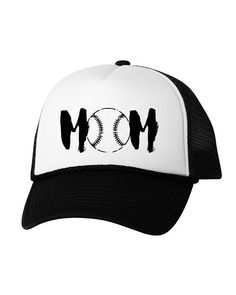 fc0c15bc48 Baseball Mom Trucker Hat Sports Mom Hat Mother s Day Gifts for Women Sports  Mom Baseball Hat Cute Ba