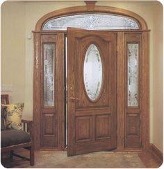 Jeld-Wen Wood Jeld-wen Custom Fiberglass Door with clavos and ...