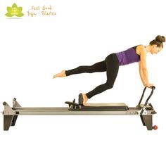 jackrabbit leaping with one leg pilates reformer exercise 2 - yellow - My WordPress Website Pilates Workout, Pilates Reformer Exercises, Pilates Barre, Cardio, Barre Workouts, Workout Tips, Pilates Machine, Pilates At Home, Pilates For Beginners
