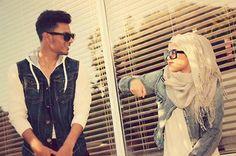 hijabii couple