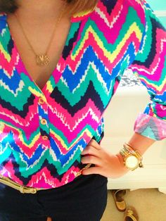 Lilly and chevron..