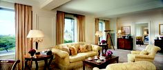 The Royal Suite at The Ritz-Carlton New York, Central Park offers unparalleled views of Central Park.
